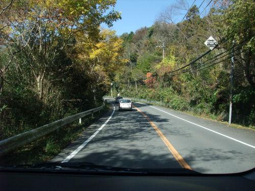 国道168号線・磐船街道・いわふね・紅葉