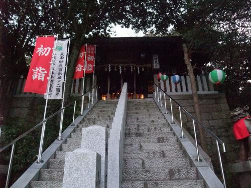 星田妙見宮・妙見神社・初詣