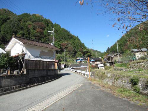 兵庫県佐用町奥海