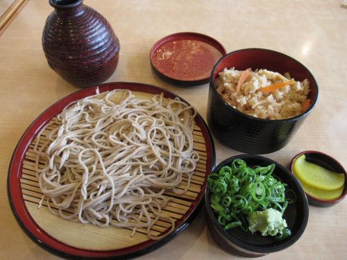 笠そば処の蕎麦
